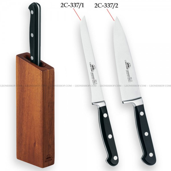 Magnetic Knives Block Set 2c 337 Leoneshop Usa