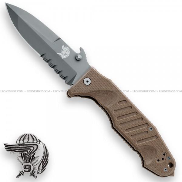 Fox Col Moschin Knife Big Size Earth FX-SOK09CM01E